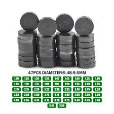 D=9.48 mm Valve Shim Kit 1.20 to 3.50 Diameter For HONDA SUZUKI KAWASAKI YAMAHA