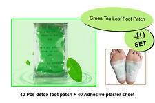 40 Detox Herbal Foot Patch Pads Natural plant Toxin Removal+40 Sticky Adhesives