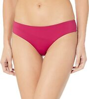 Volcom Women's 242669 Simply Seam Cheeky Red Bikini Bottom Swimwear Size M