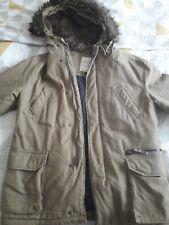 BNWT Jack /& Jones Men/'s Core Earth Hooded Parka Coat