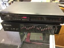 YAMAHA GE30 NATURAL SOUND GRAPHIC EQUALIZER Lot Of 2 Yamaha Stereo Tuner T-1020