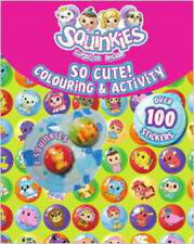 Squinkies So Cute Colouring & Activity Book (Squinkies Activity Book), New, Disn