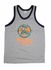 Tiger Beer Singlet Vest Top Grey size M **UK STOCK** New