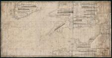 1838 Norie Blueback Chart / Map of the English Channel and South England