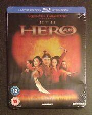 Hero Blu-Ray SteelBook Zavvi Uk Exclusive Tarantino Jet Li 1/2000 New Oop & Rare