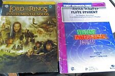 Flute: Lord of the Rings Instrumental Solos & Flute Student Instrumental Course