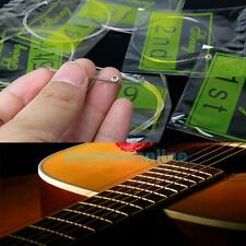 New Pro Acoustic Guitar Set of Electric Guitar 6 Steel Strings XL150/.023/009in