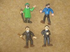 Tintin Plastic Figures - Schleich 1985 - individual purchase - rare