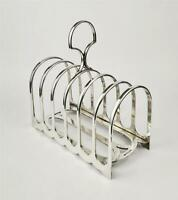 Henry Wilkinson Silver Plated Tableware Ornate Silver Plated Toast Rack