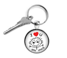 I Love You Keyring, Love, Gifts for Him, Gifts for Her, Key Chain