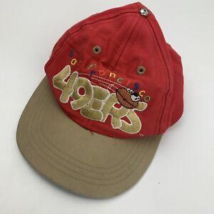 San Francisco 49ers Football Toddler Ball Cap Hat Snapback Baseball