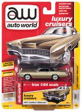 2019 AUTO WORLD 1:64 *PREMIUM 1B* BAROQUE GOLD 1967 Cadillac Eldorado *NIP*