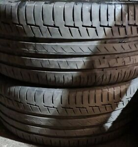 X2 Matching Pair Of 225/45/18 Continental Premium Contact 6 XL Extra Load Tyres