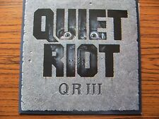 QUIET RIOT  QR III LP With Lyric Insert