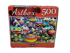 500 Piece Jigsaw Puzzle - COLORFUL BALLOONS IN THE SKY - New Sealed ARTBOX