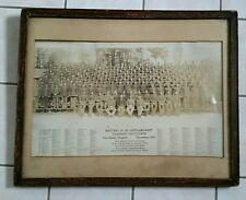 Vintage Military Photograph Dec 1942 Fort Eustis VA Training Battalion w/ NAMES