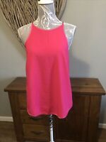 Dorothy Perkins Ladies Bnwt Size 12 Bright Pink Cerise Top