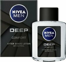 NIVEA Men Deep After Shave Lotion 100ml Anti- Bacterial & Inflammatory Effect