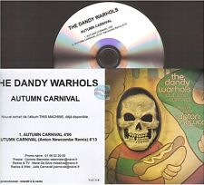 THE DANDY WARHOLS autumn carnival CD PROMO france french