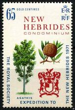New Hebrides English 1971 SG#151 Royal Society Expedition MNH #D31612