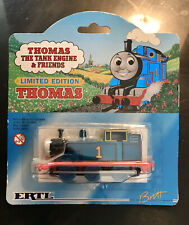 THOMAS THE TANK & FRIENDS-ERTL LIMITED EDITION BLUE METALLIC TRAIN 1998 **NEW**