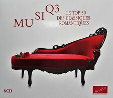 MUSIQ' 3 Le top 50 des classiques romantiques 6CD Album RTBF * MUSIQ3