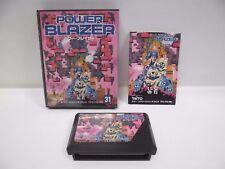 POWER BLAZER -- Boxed. Famicom, NES. Japan game. Work fully. 10730