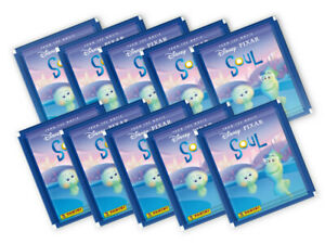 Panini Soul Movie 2021 Sticker Collection - 10 sealed sticker packs