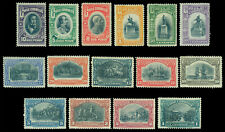 CHILE 1910  Centenary of Independence complete set  Scott  83-97 mint MNH** Rare