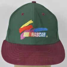 Green NASCAR Co Logo VTG Style Embroidered Baseball Hat Cap Adjustable Snapback
