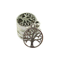 30 pcs Craft Supplies Tree Of Life Pendants Beads Charms Pendants for Crafting