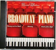 Broadway Piano FAMOUS BROADWAY SOLO PIANO MUSIC CD, NEW & SEALED