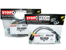 Stoptech Stainless Steel Braided Brake Lines (Front & Rear Set / 44005+44505)