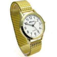 Ravel Gents Super-Clear Quartz Watch with Expanding Bracelet Gold 31 R0230.02.1