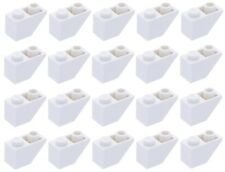 Lego White Slope 1x2 Inverted 20 pieces NEW!!!