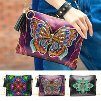 5D DIY Diamond Painting Chain Bags Butterfly Special Shaped Wallet Diamond Gift