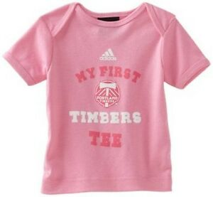 Portland Timbers My First Timbers pink t-shirt NWT MLS new with tags soccer