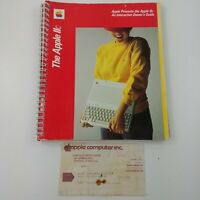 Owner Guide The Apple Computer Inc. Original Paperwork 1983 2c IIc - Lot #18