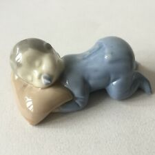 Vintage Porcelain Sleeping Baby Boy Figurine
