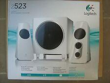 Logitech Z523 Speaker System 2.1 White 980-000367 RMS 40W 2x10W+20W New
