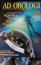 """RIVISTA """" AD OROLOGI """" 2008 ROLEX SEA-DWELLER DIVER SUB (LN-2)"""