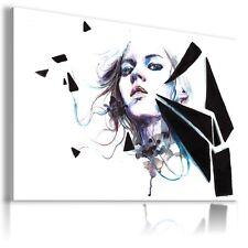 PAINTING WOMAN FACE MAKE UP Modern PRINT Canvas Wall Art Picture  BA40 MATAGA .