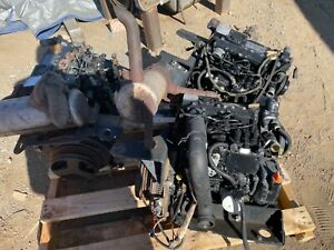 Yanmar 3TNM72-A 3 Cylinder Diesel Engine SAE Bell Housing 22.9HP Net 24.9HP