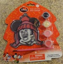 Disney Mickey Mouse Paint Your Own Christmas Sun Catcher #2 New