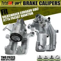 2x Disc Brake Caliper Rear Left & Right for Volkswagen Passat Jetta Golf Corrado