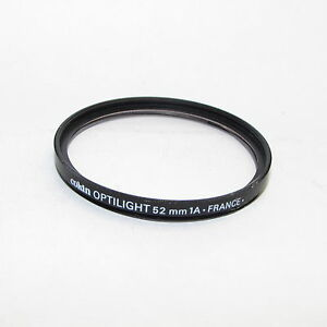 Genuine Cokin Optilight 1A 52mm Lens Filter Made in France S940406