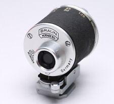 STEINHEIL - BRAUN - UNIVERSAL TURRET VIEW FINDER 35MM - 135MM for RANGEFINDER