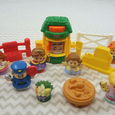 Little People Fisher Price Store Farmers Market people lot fence