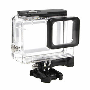 Waterproof Housing Case Diving Protective Cover Gopro Hero 7 Silver/White New US
