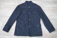 Peter Werth Mens Single Breasted Brown Wool Coat Jacket Size 3 - UK M  -VGC